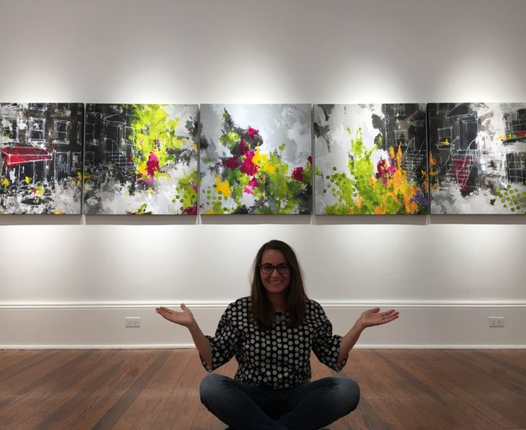 #13 Jen Fisher: From Interior Designer to Artistic Painter