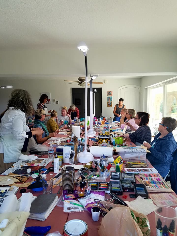 #40 What to Expect at a Destination Art Class