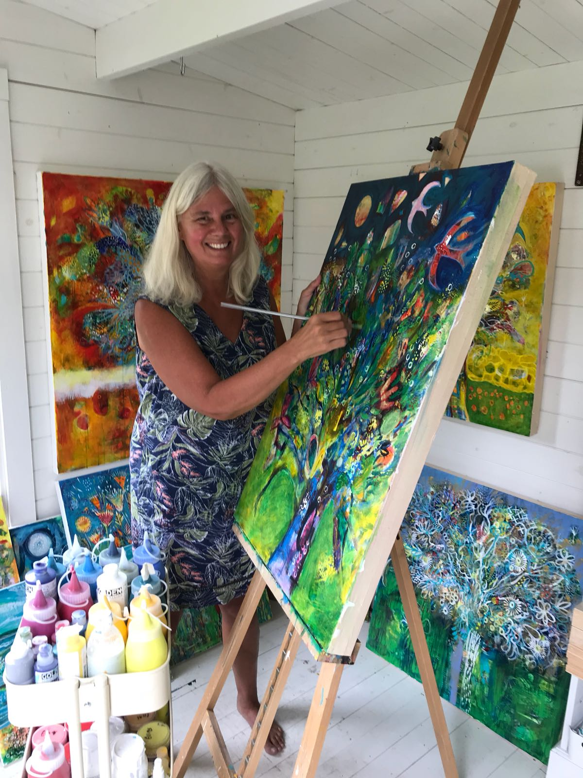 #87 Mary Price: Intuitive Painting in the UK