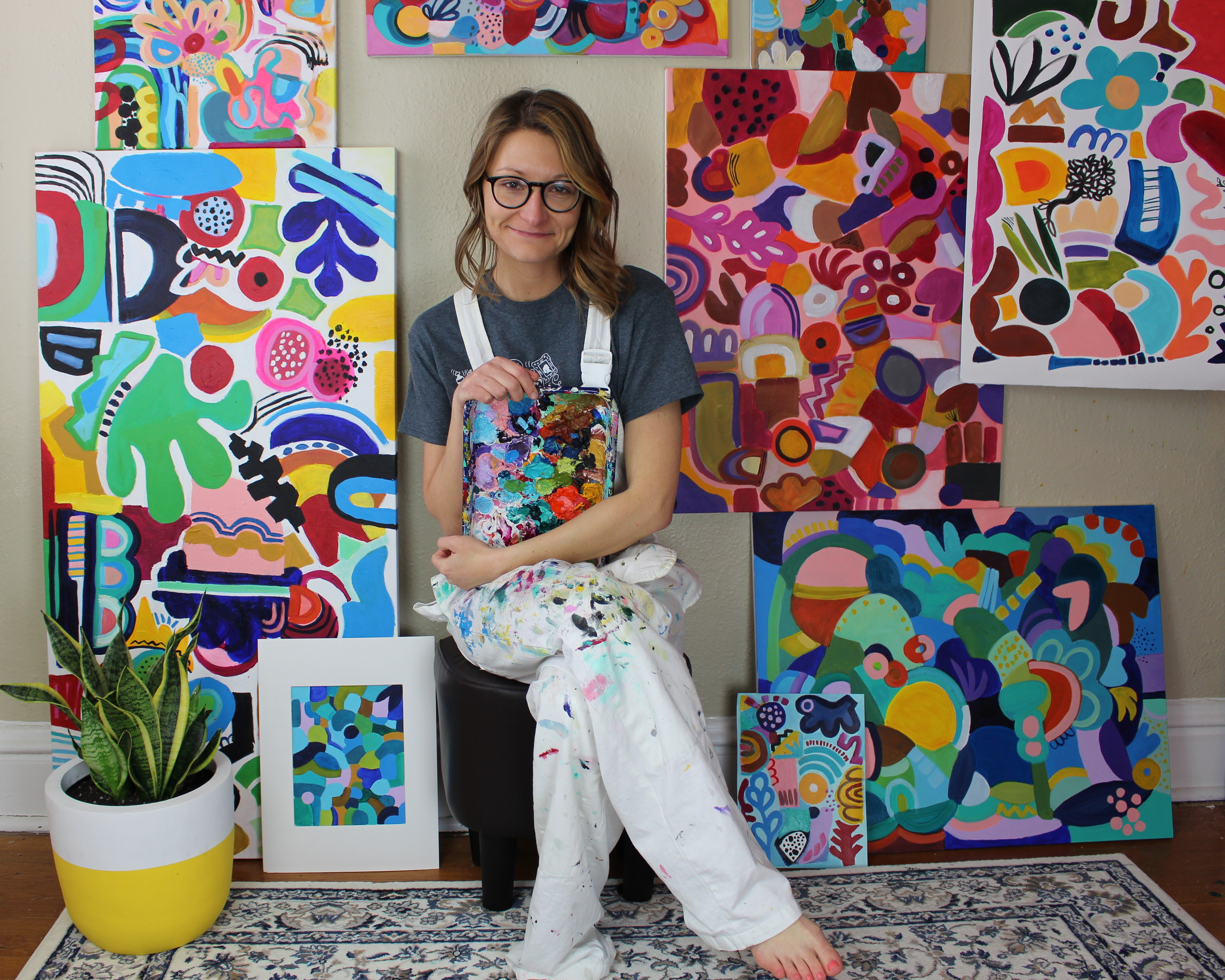 #89 Jessica Hitchcock: Creating Paintings Filled with Joy