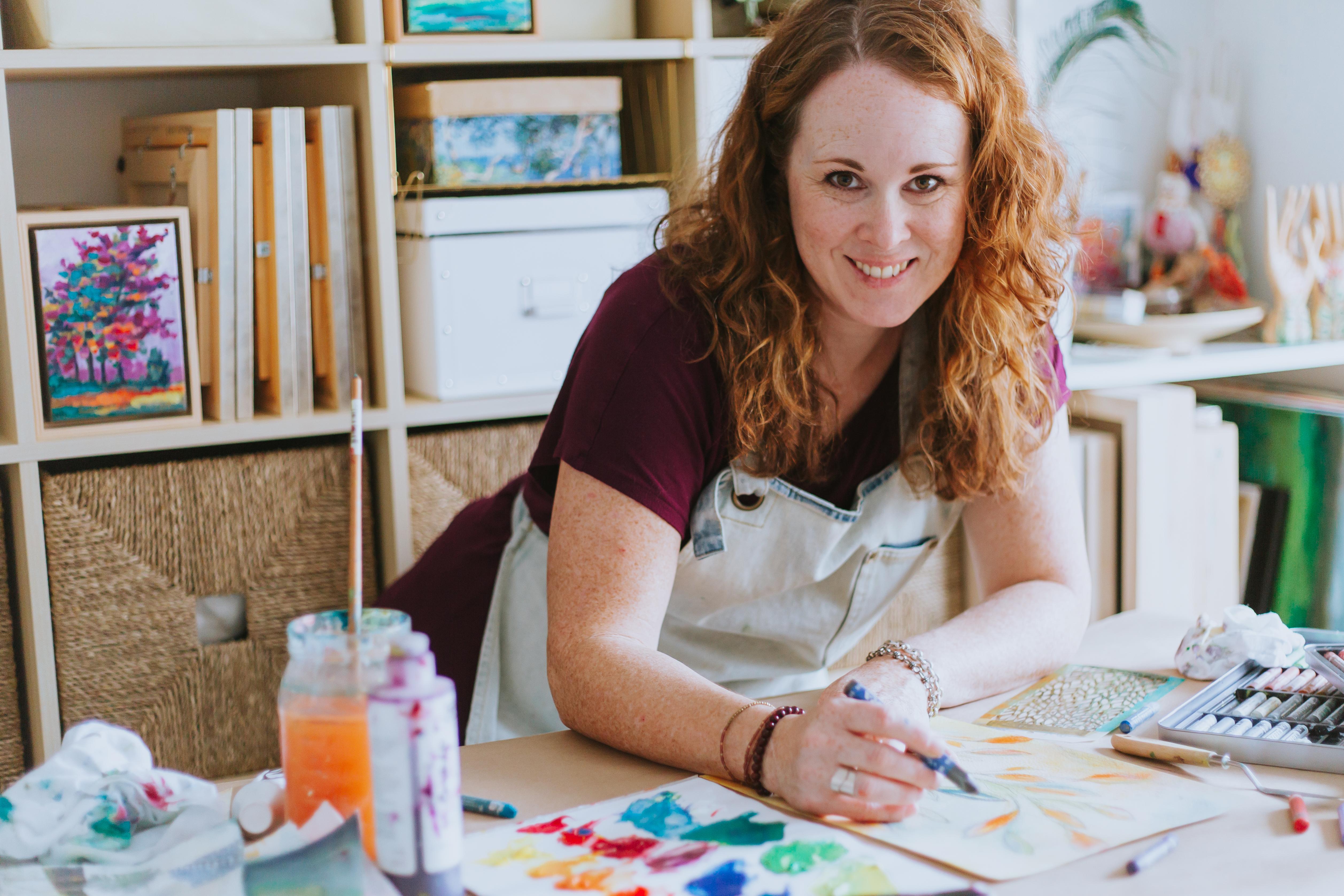 #107 Kellee Wynne Conrad: Helping Artists Find Their True Colors