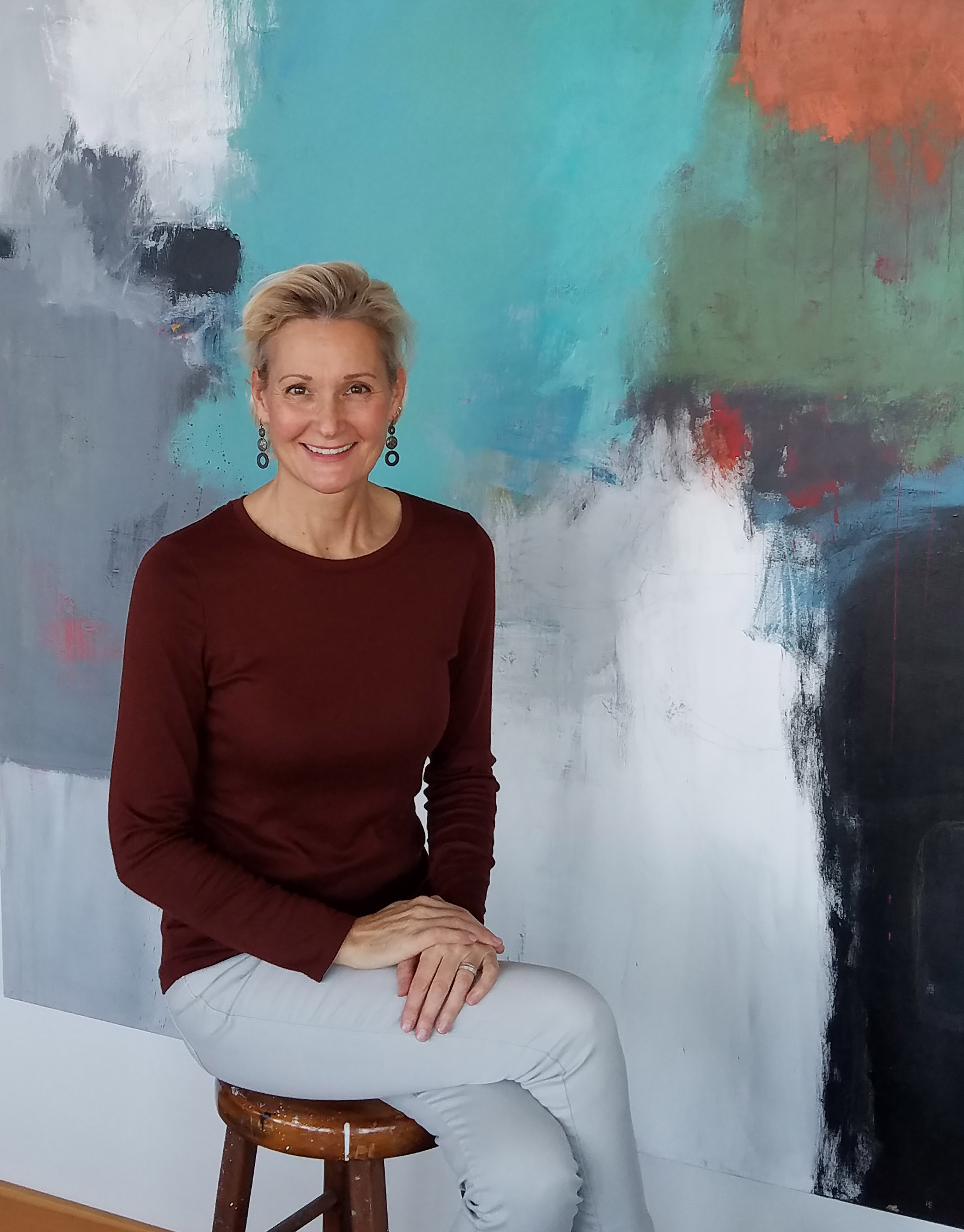 #109 Betty Krause: Painter of Abstract Florals and Master at Videos and Instagram