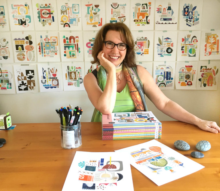#152 Lucie Duclos: Teaching Online Classes and Making Daily Art