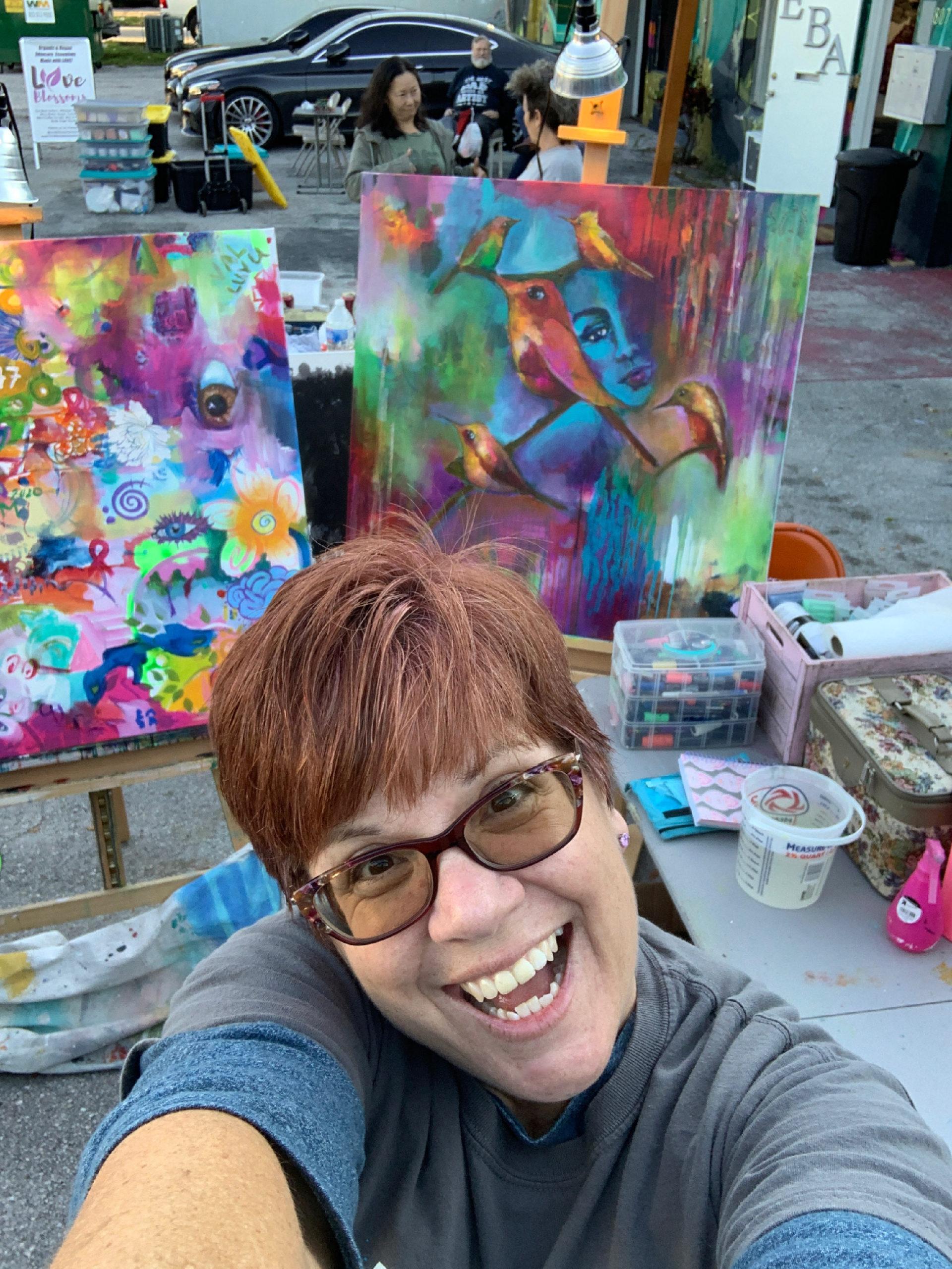 #146 Heather Neiman: South Florida Mixed Media Artist