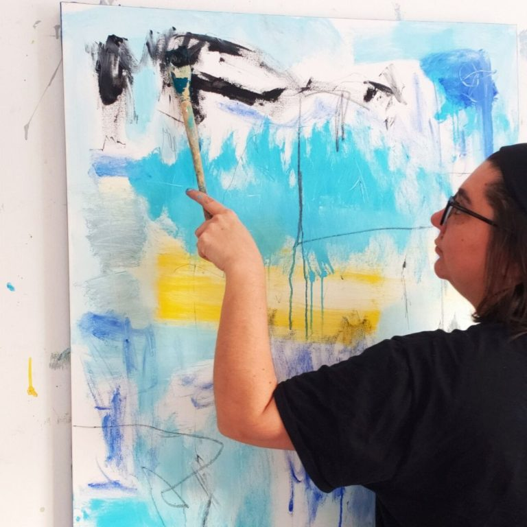 #145 Natalie Dadamio: Contemporary Abstract Artist