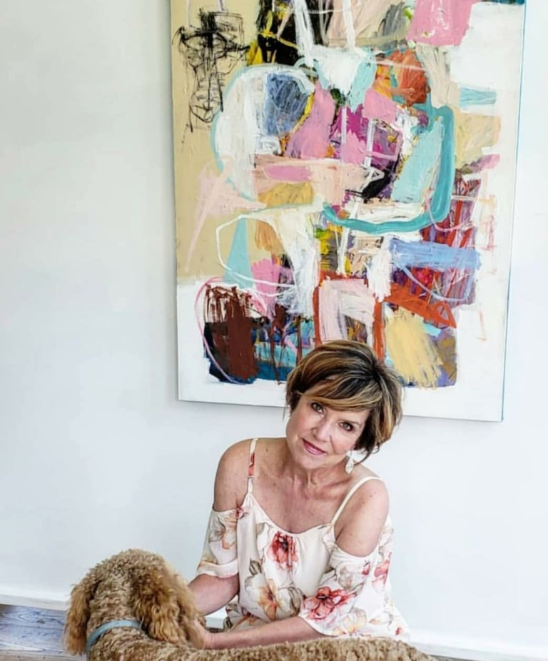 #147 Wendy McWilliams: Intuitive Abstract Painter