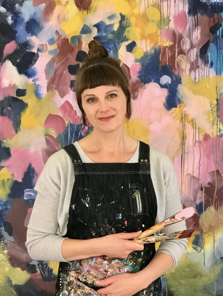 #172 Susan Nethercote: Creating a Practice with Abstract Floral Paintings