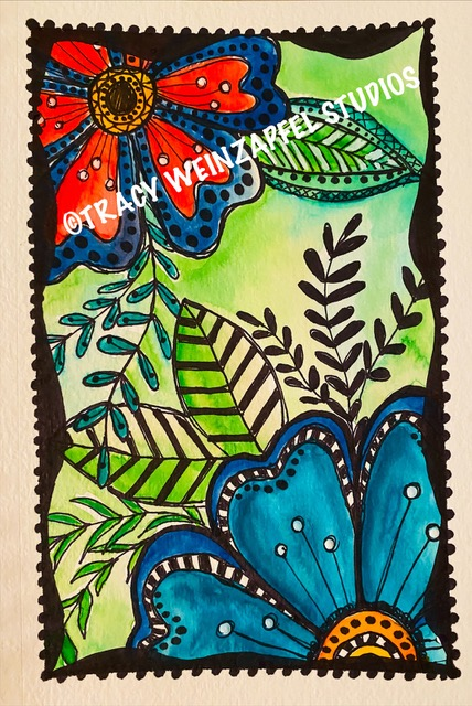 Tracy Weinzapfel journal page