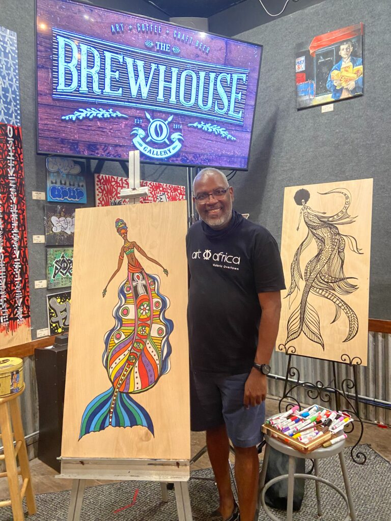 #185 Anthony Burks: Creating Beauty with Colored Pencils