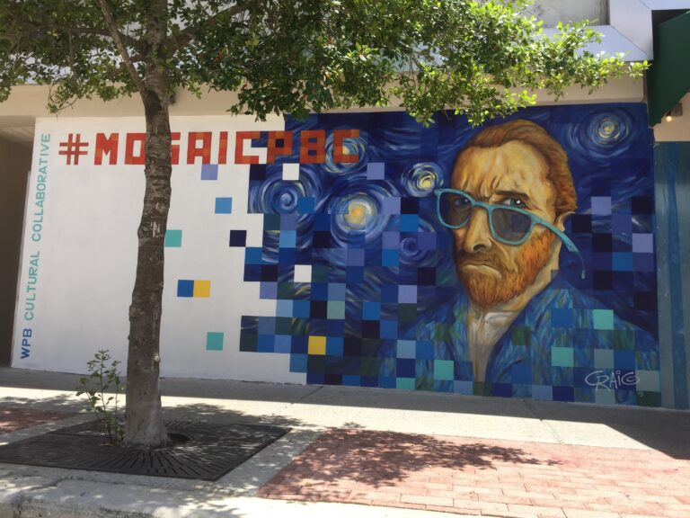 Mural called Mosaic by Craig McInnis