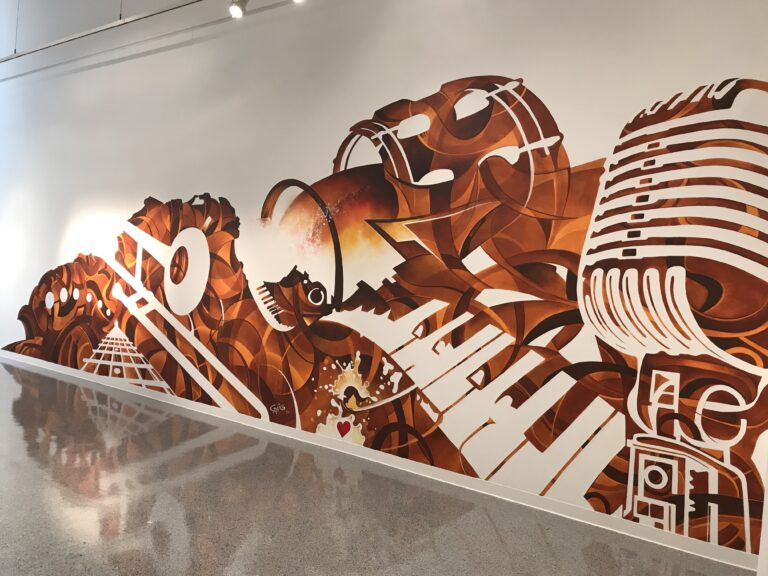 Mural at the Cultural Council by Craig McInnis