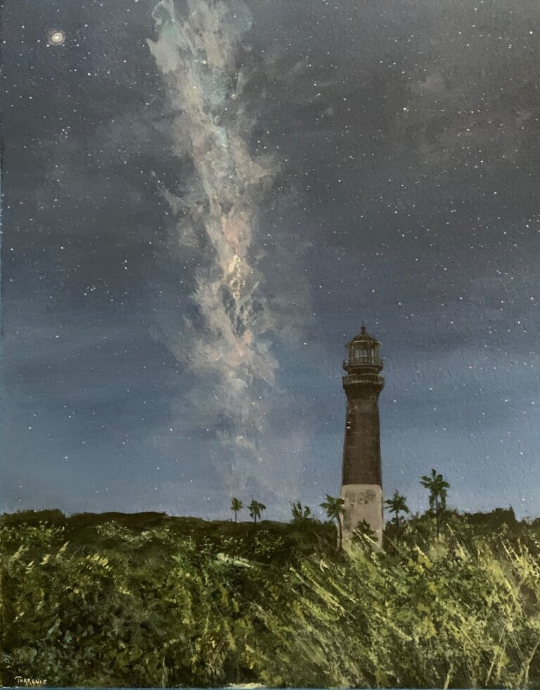 Lighthouse Painting by Shannon Torrence