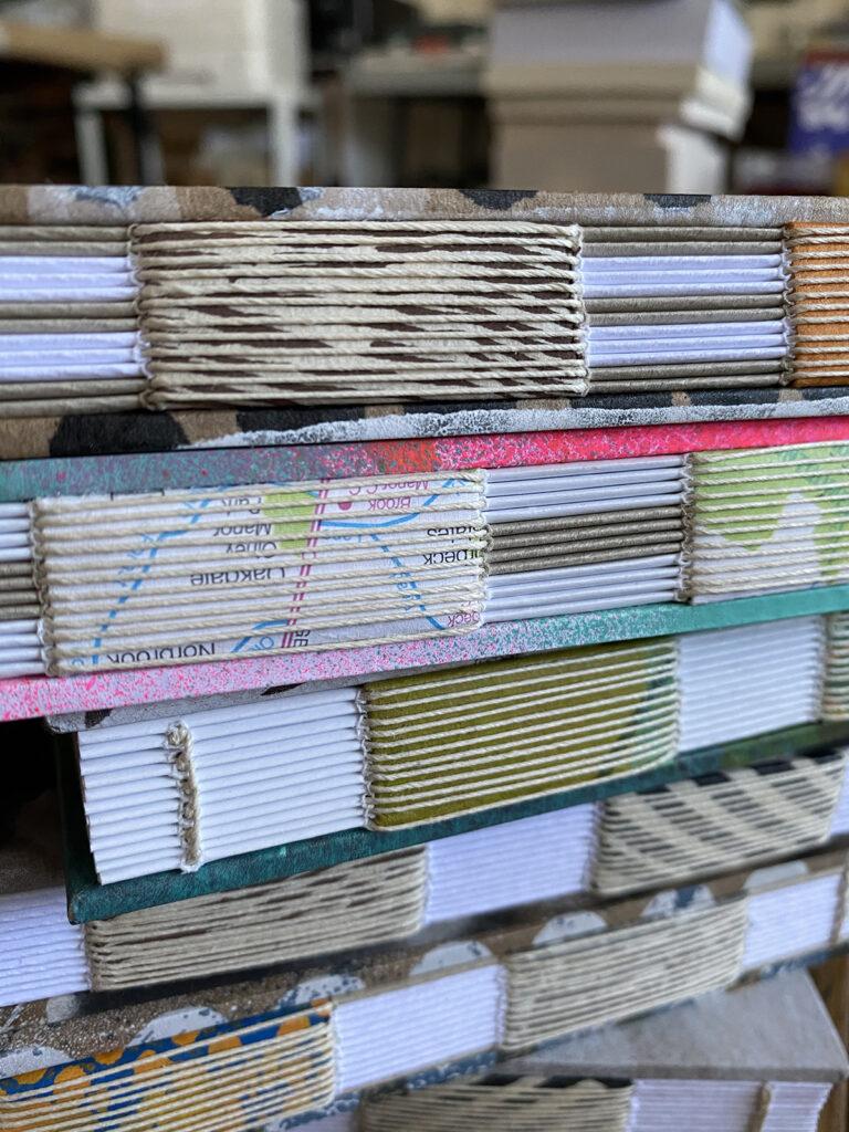 hand sewn books