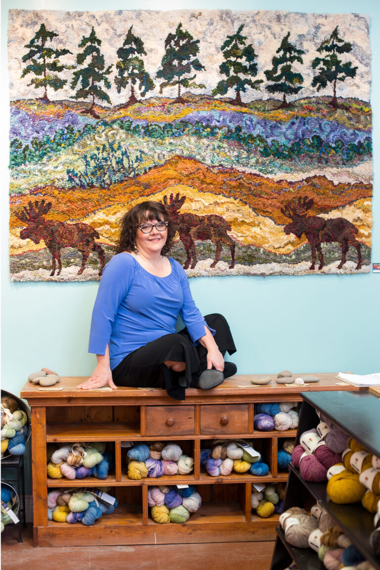 #189 Deanne Fitzpatrick: Creating Beauty Every Day through Hooked Rugs