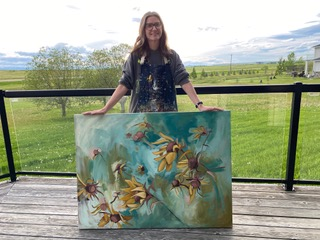 #187 Rachelle Kearl: Painter of Wildflowers
