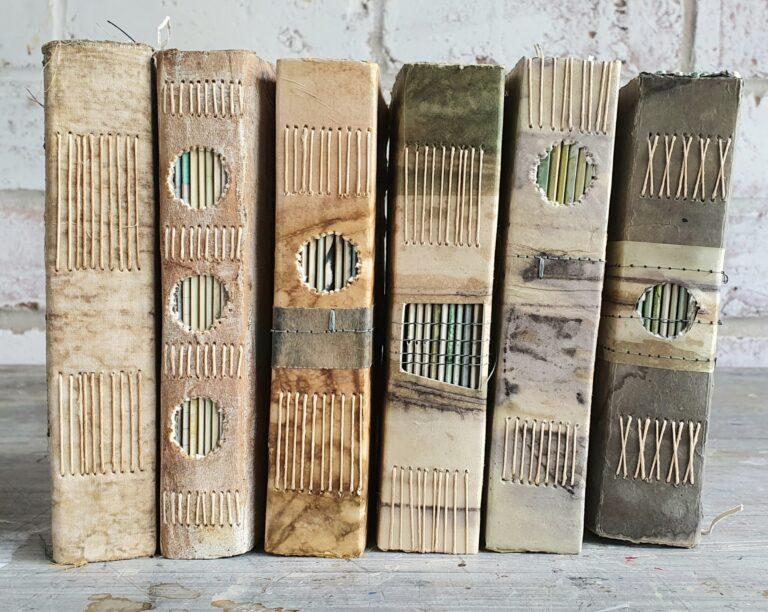 Handmade books by Liz Constable