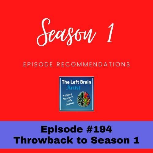 #194 Season 1 Episode Recommendations