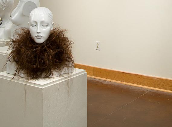 Hair collar by Maria Tritico