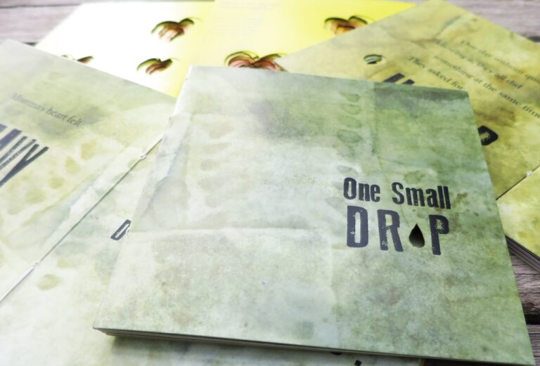 One Small Drop book by Liz Constable