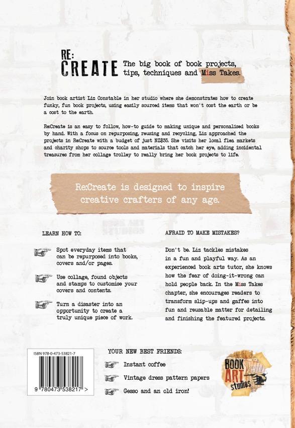 ReCreate book by Liz Constable