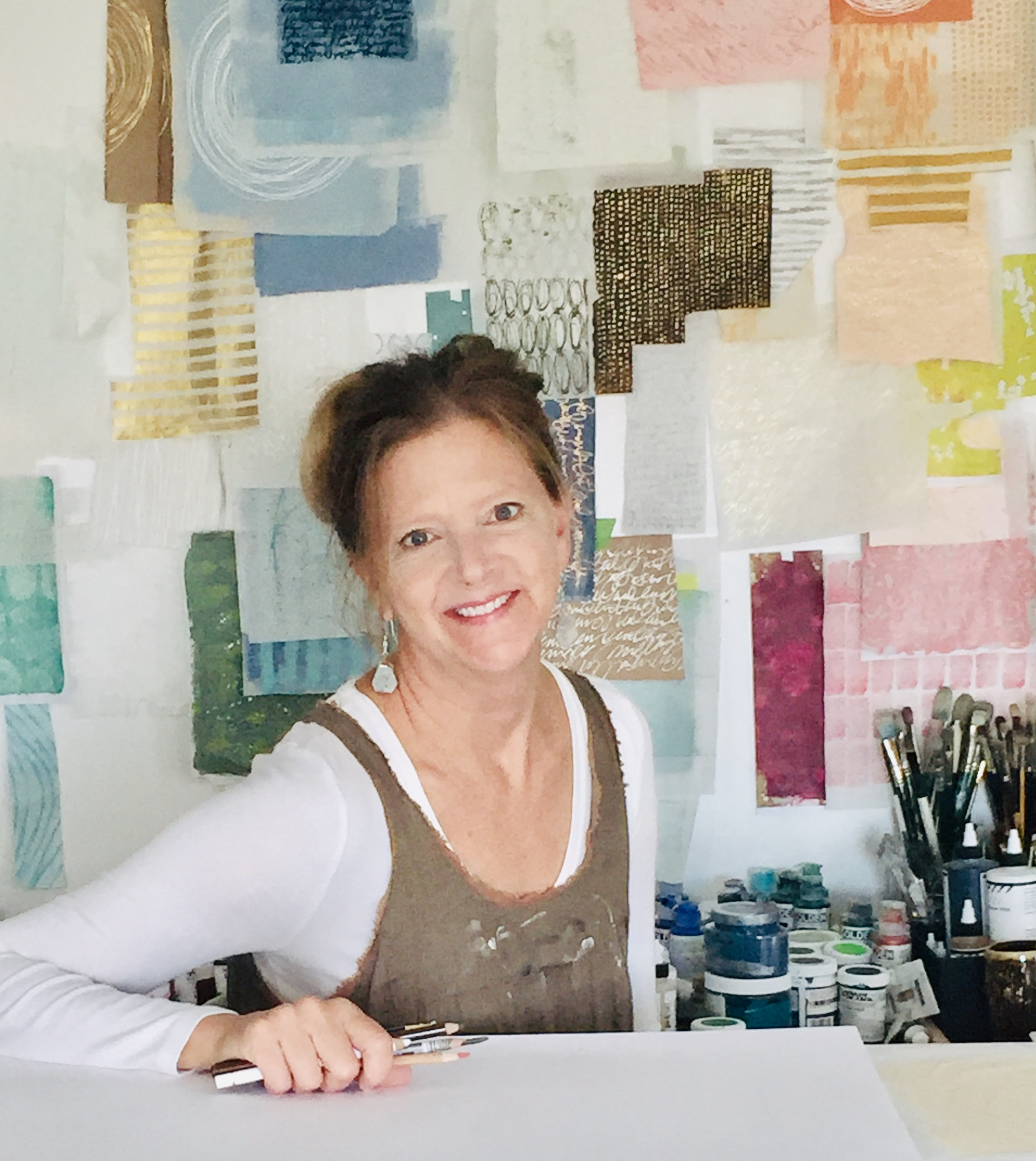 #192 Rebecca Sower: Mixed Media Artist Inspired by the Outdoors