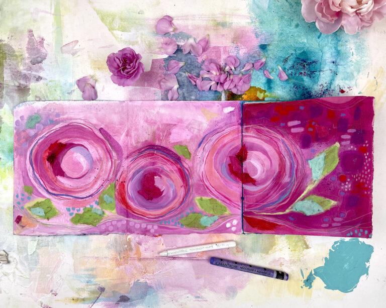 art journal by Andrea Garvey