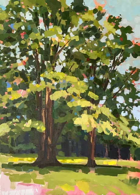 Tree painting by Brittany Soucy