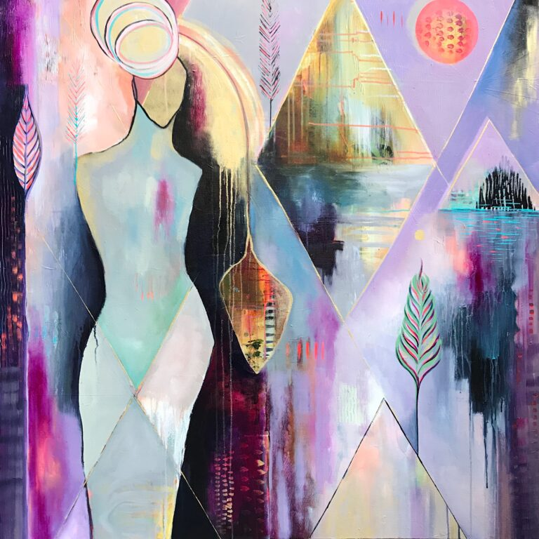Flora Bowley painting Solace