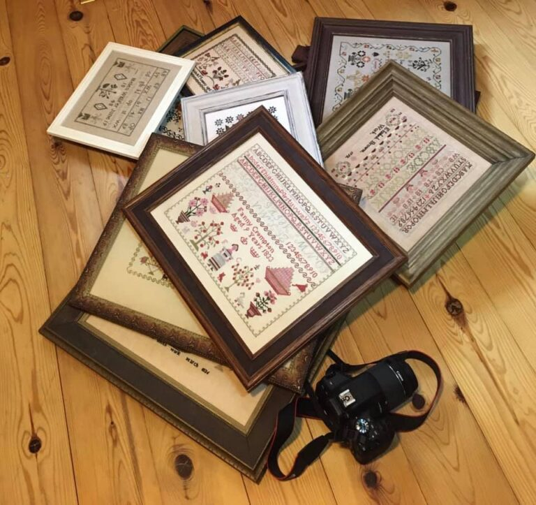 stitched samplers