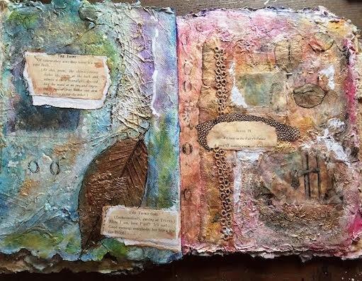 Mixed Media Art by Angie Follensbee-Hall