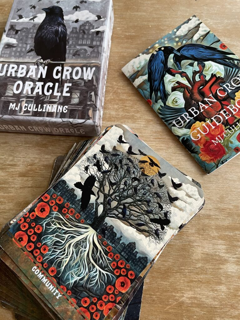 Urban Crow oracle deck