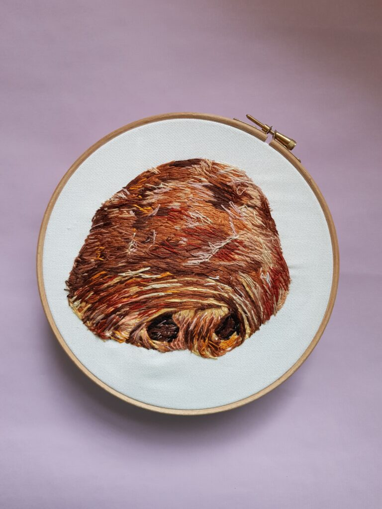 Embroidery by Chloe Avery
