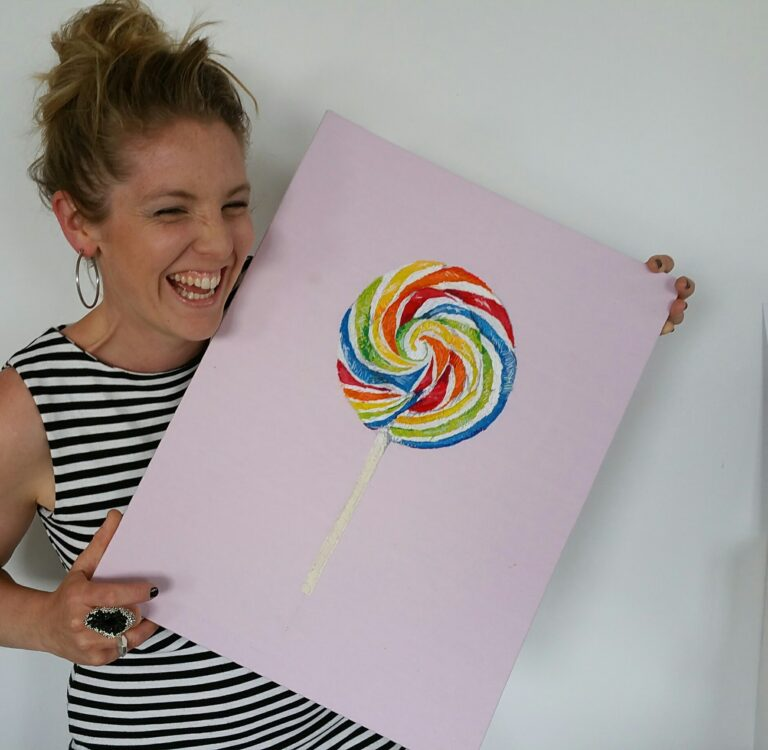 Artist Chloe Amy Avery