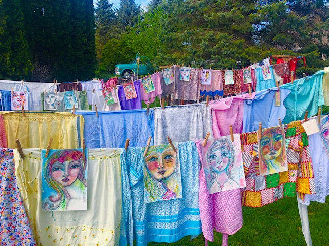 Aprons in the Wind