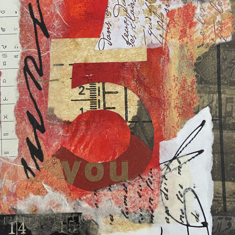 Collage art by Catherine Rains