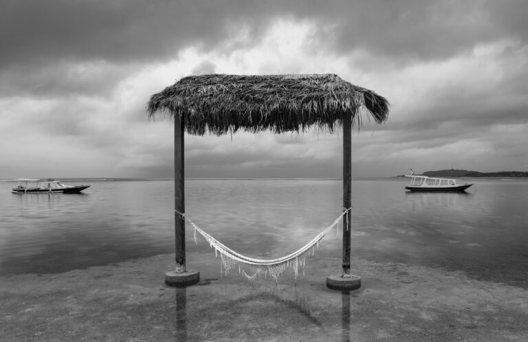 Hammock over the water