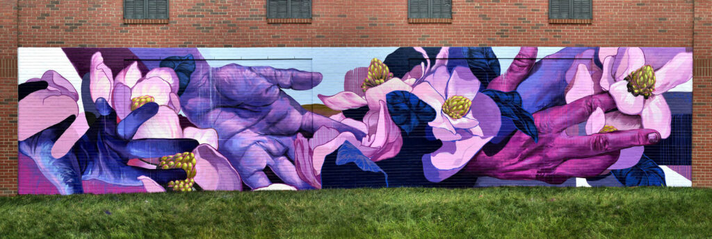 Taylor White mural