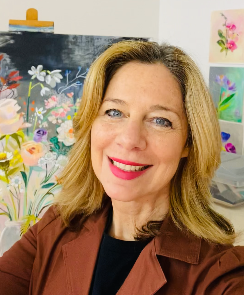 #219 Cathy Nichols: Making Art with Paint, Paper, and a Little Magic