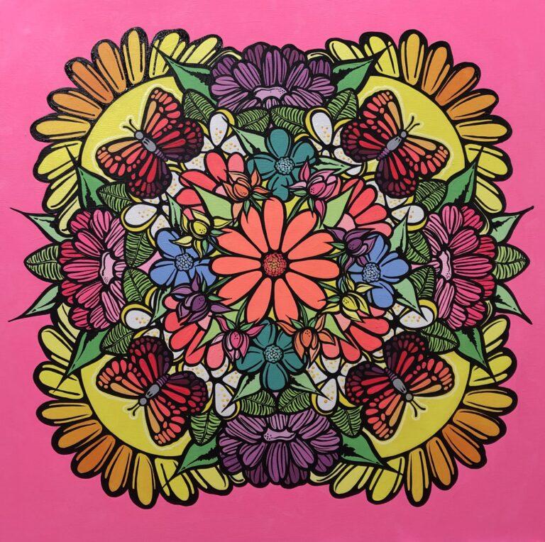 Painting by Nicole Galluccio