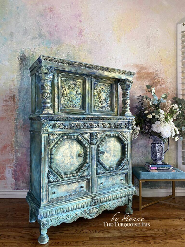 The Turquoise Iris furniture