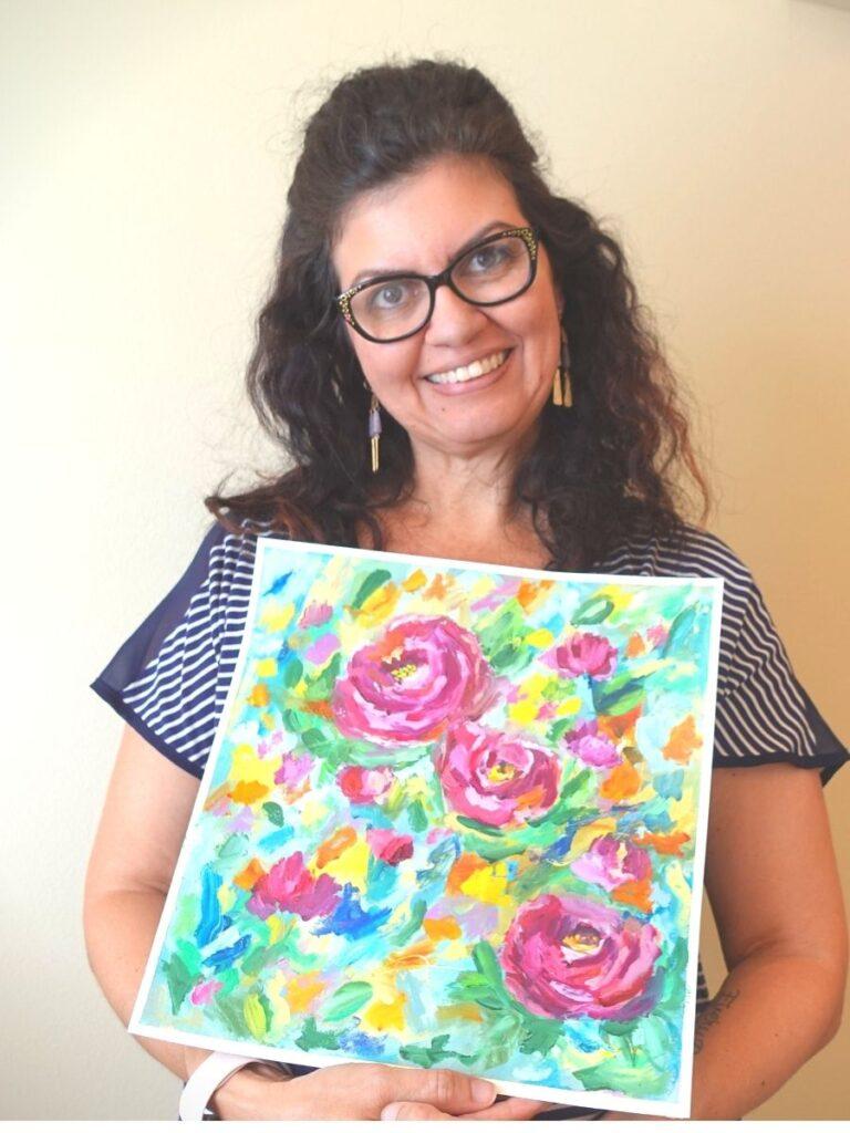 artist Jana Oliveira