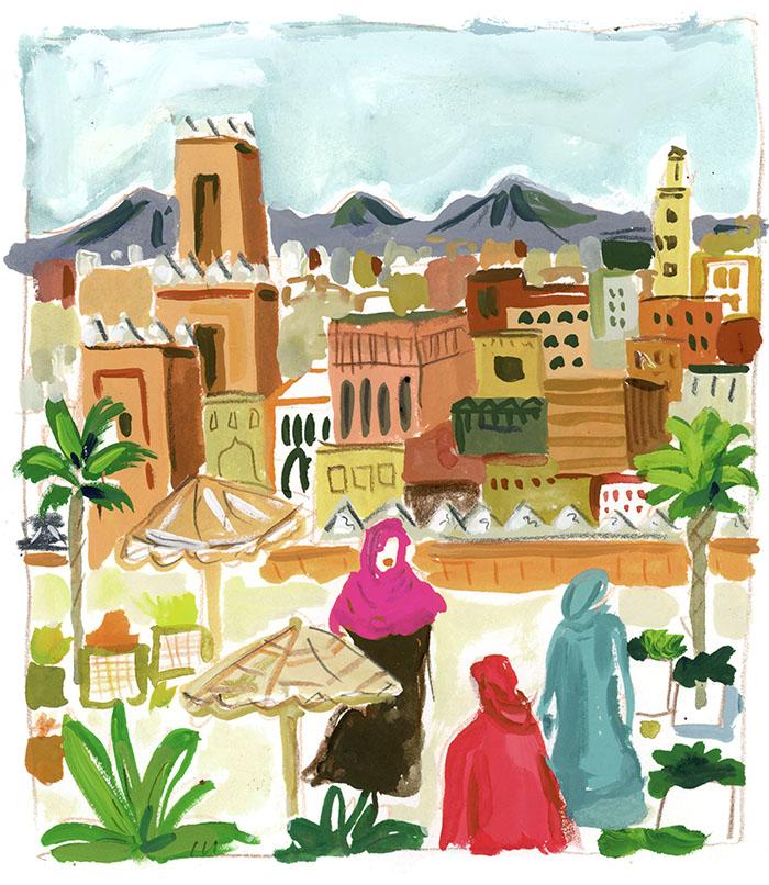 Morocco by Jennifer Orkin Lewis